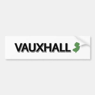 Autocollant De Voiture Vauxhall, New Jersey