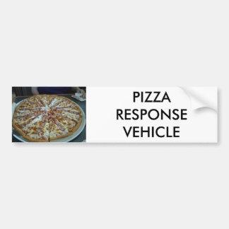 Autocollant De Voiture Véhicule de réponse de pizza