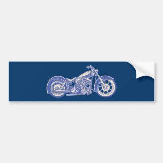 Autocollant De Voiture Vélo 10-11 - bleu