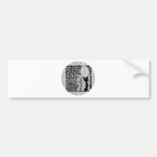 Autocollant De Voiture Version noire et blanche - Reiki n Karuna