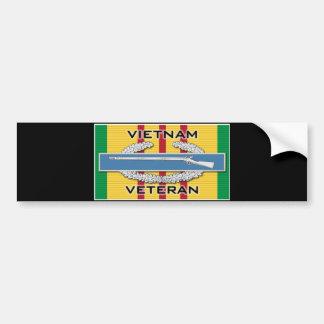 Autocollant De Voiture Vétéran de CIB Vietnam