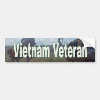 Autocollant De Voiture Vétéran du Vietnam