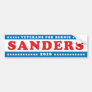 Autocollant De Voiture Vétérans pour les ponceuses '16 de Bernie