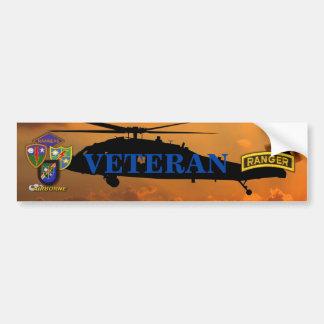 Autocollant De Voiture Vétérinaires aéroportés LRRP de vétérans de gardes
