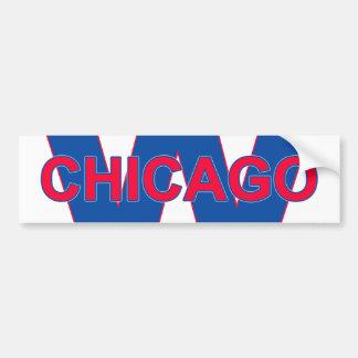 Autocollant De Voiture Victoire de Chicago