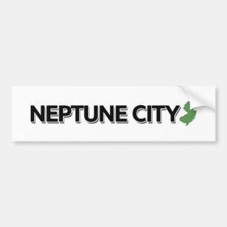 Autocollant De Voiture Ville de Neptune, New Jersey