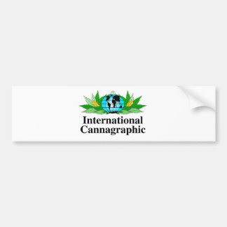 Autocollant De Voiture Vitesse internationale de logo de Cannagraphic