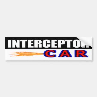 Autocollant De Voiture Voiture d'intercepteur