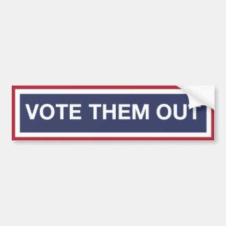 Autocollant De Voiture Votez-les
