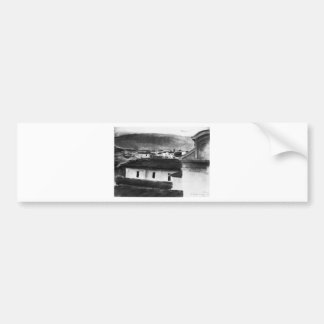 Autocollant De Voiture Vue des toits de Florence par Max Liebermann