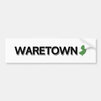 Autocollant De Voiture Waretown, New Jersey