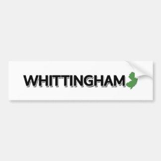 Autocollant De Voiture Whittingham, New Jersey