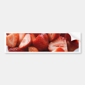 Autocollant De Voiture World of Strawberries