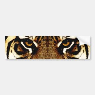 Autocollant De Voiture Yeux d'un tigre