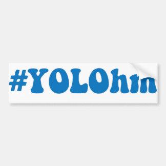 Autocollant De Voiture #YOLOhm… YOLO POUR VAPERS