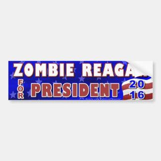 Autocollant De Voiture Zombi 2016 drôle de parodie d'élection Reagan