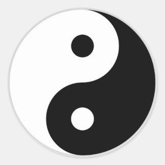 Autocollant de Yin-Yang