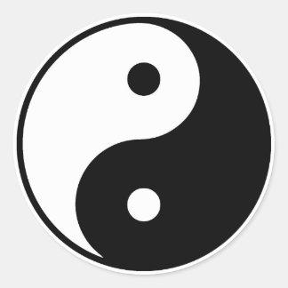 Autocollant de Yin Yang