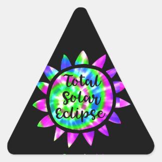 Autocollant d'éclipse solaire de total de colorant