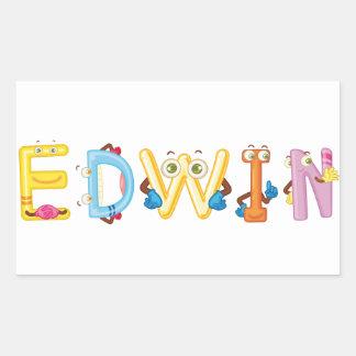 Autocollant d'Edwin