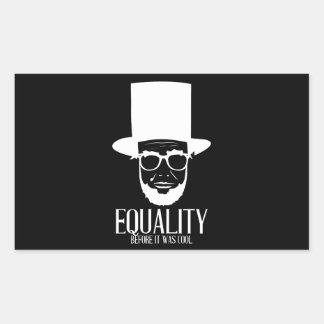 Autocollant d'égalité de Lincoln de hippie