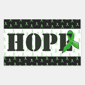 Autocollant d'espoir de conscience de la maladie