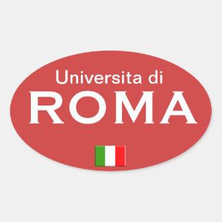 Autocollant d'Européen d'université de Rome