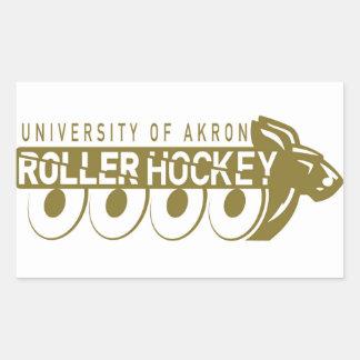 Autocollant d'hockey de rouleau d'Akron