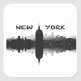 Autocollant d'horizon de New York City