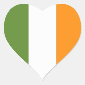 Autocollant du jour de drapeau de St Patrick