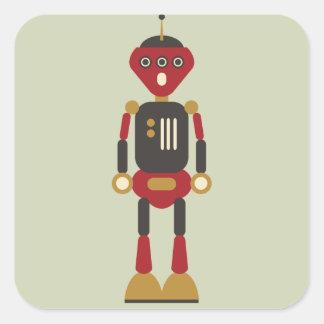autocollant du robot 3-Eyed