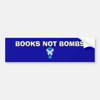 Autocollant écossais de l'indépendance de bombes