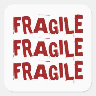 Autocollant fragile