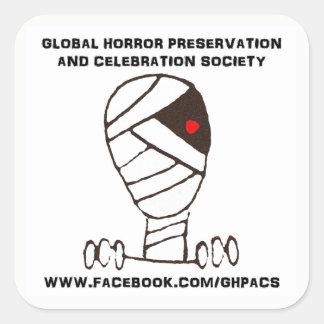 Autocollant global GHPACS de logo de conservation