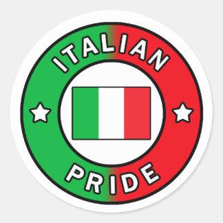 Autocollant italien de fierté