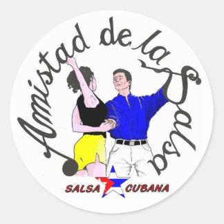 autocollant Logo Amistad de la Salsa