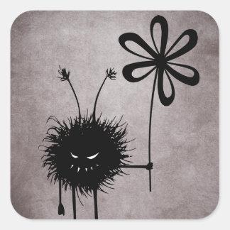 Autocollant mauvais de cru d'insecte de fleur