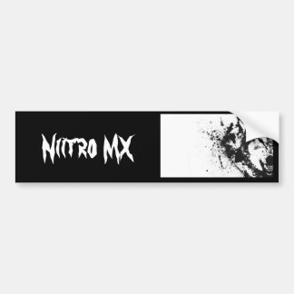 Autocollant nitro de MX