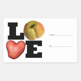 Autocollant personnalisable de pomme de terre de