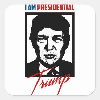Autocollant présidentiel de Donald Trump