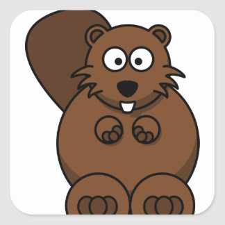 Autocollant rond classique, ours de nounours mat