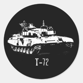 Autocollant russe du réservoir T-72