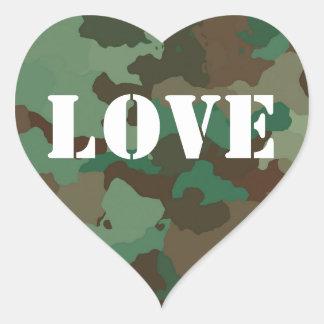 Autocollant vert de faveur de mariage d'amour de