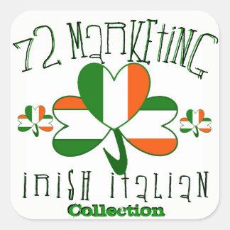 autocollants 72marketing italiens irlandais