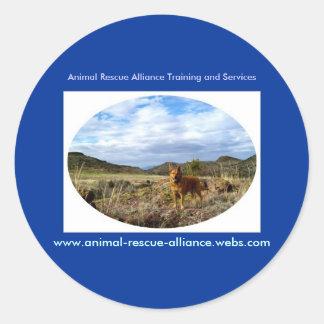 Autocollants animaux d'Alliance de délivrance