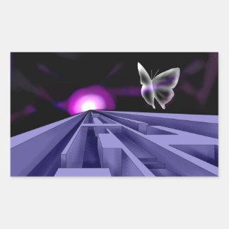 Autocollants artistiques de labyrinthe