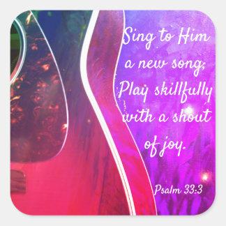Autocollants chrétiens d'écriture sainte de 33:3