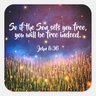Autocollants chrétiens d'écriture sainte de bible
