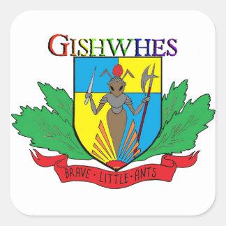 Autocollants courageux de fourmis de Gishwhes