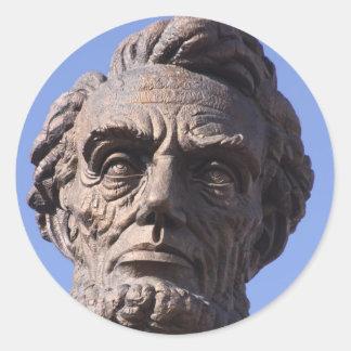 Autocollants d'Abe Lincoln